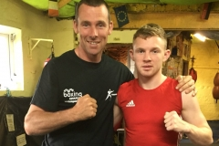 Jason and World Amateur Champion Oliver Simpson